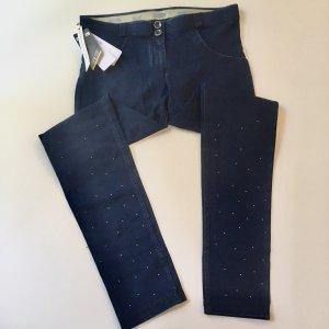 Freddy Jeans skinny blu scuro-blu