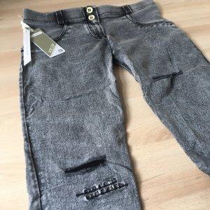Freddy Jeans WR.UP Neu Gr. XL Grau Denim Ripped