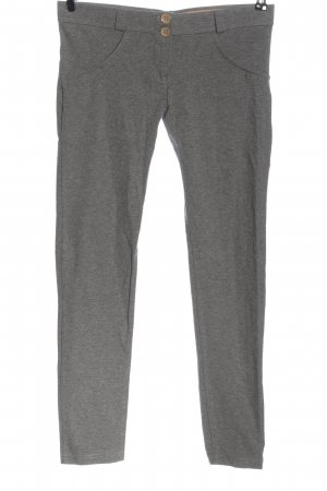 Freddy Pantalone fitness grigio chiaro puntinato stile semplice