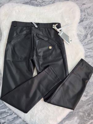 Freddy Faux Leather Trousers black