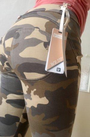 Freddy WR.UP Neu Camouflage Low Waist