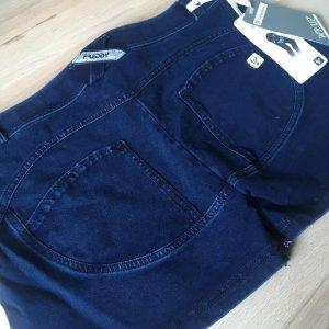 Freddy WR.UP Neu Shorts Blau Denim