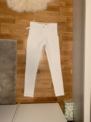 Freddy Low-Rise Trousers white