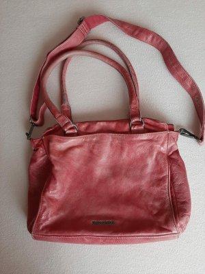 Freds Bruder Leder Tasche in pink