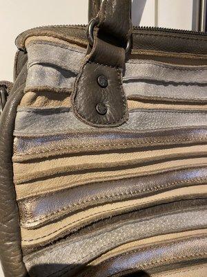 Fredsbruder Satchel multicolored leather