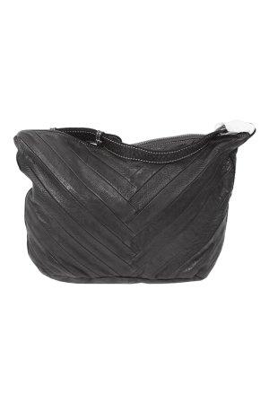 FredsBruder Schultertasche in Schwarz aus Leder