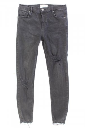 Free People Jeans a 7/8 nero Cotone