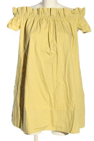 Free People A-Linien Kleid blassgelb Casual-Look