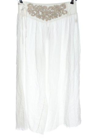 Free People Luźne spodnie biały W stylu casual