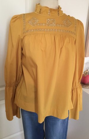Free People Bluse in gelb Gr.M