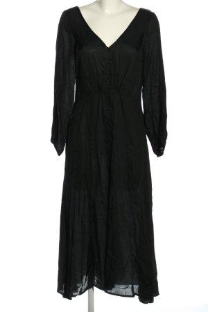 Free People Blusenkleid schwarz extravaganter Stil