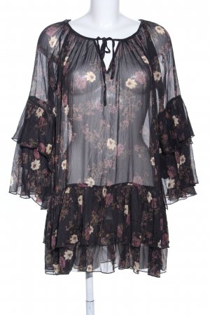 Free People Blouse Dress allover print business style