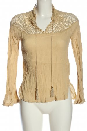 Free People Blouse Top cream casual look