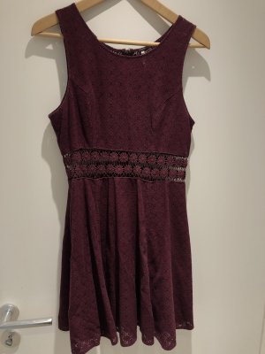Free People Bordeaux Kleid
