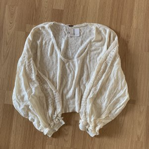 Free People Oversized Sweater natural white-cream