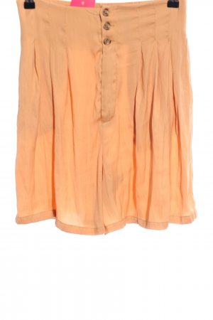 Free People High-Waist-Shorts hellorange Casual-Look