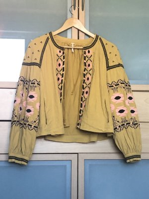 Free People Blouse Jacket multicolored