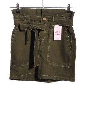Free People Jeansowa spódnica brąz W stylu casual