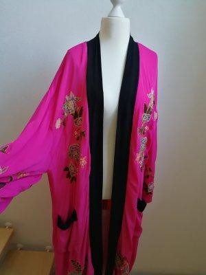 Free People Kimono pink viscose