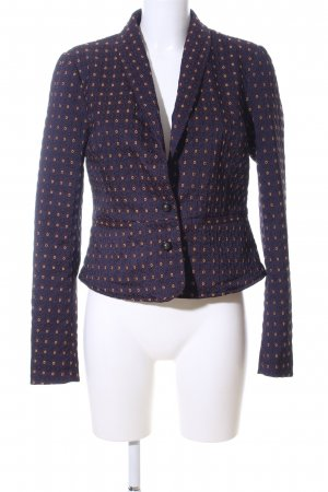 Free People Kurz-Blazer grafisches Muster Casual-Look