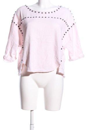 Free People Kurzarmpullover pink Casual-Look