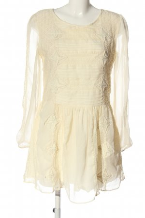 Free People Longsleeve Dress cream elegant