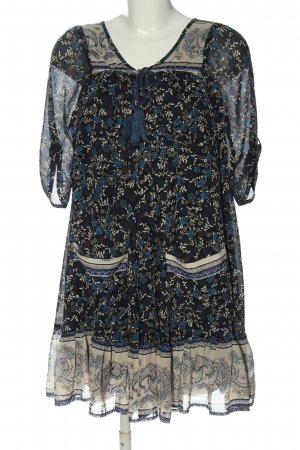 Free People Robe courte imprimé allover style décontracté