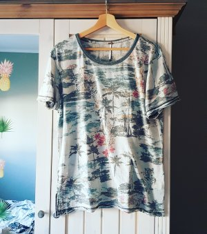 Free People T-shirt gris clair