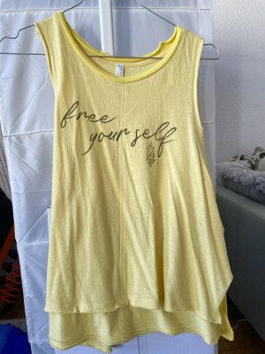 Free People shirt/ Top gelb
