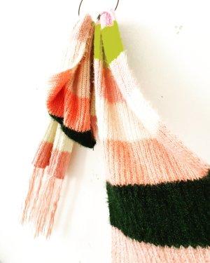 Free People Sciarpa lavorata a maglia multicolore