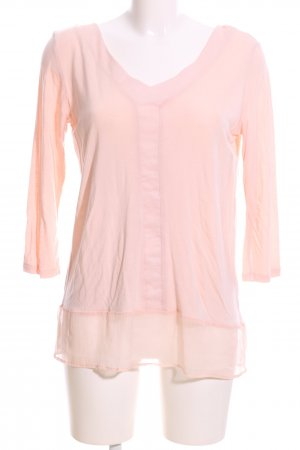 Freequent Longsleeve pink Casual-Look