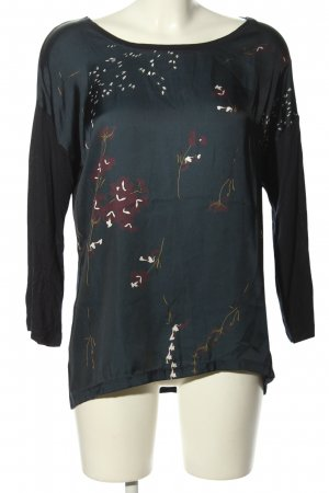 FREE / QUENT Longsleeve Blumenmuster Casual-Look