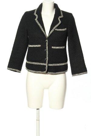 FREE / QUENT Tweed Blazer black classic style