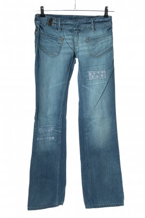Free Soul Boot Cut Jeans blau Casual-Look