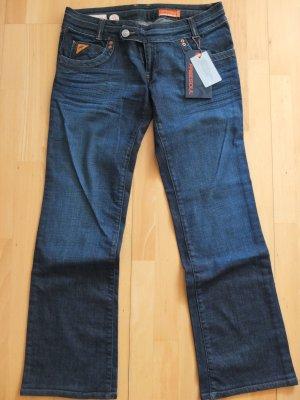 Free Soul Jeans SHEEN Straight-Leg Neu Jeansblau W 32