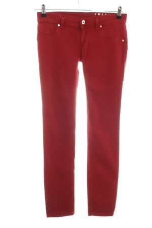 Free Soul Jeggings rosso stile casual