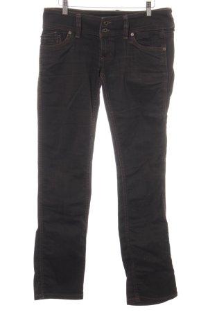 Free Soul Straight-Leg Jeans dunkelbraun Casual-Look