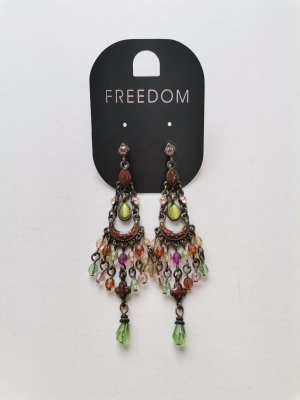 Freedom Ohrhänger Ohrringe mit Schmucksteinen