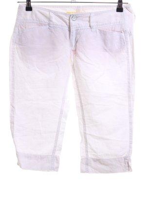 Freeman t. porter Pantalon 3/4 blanc style décontracté