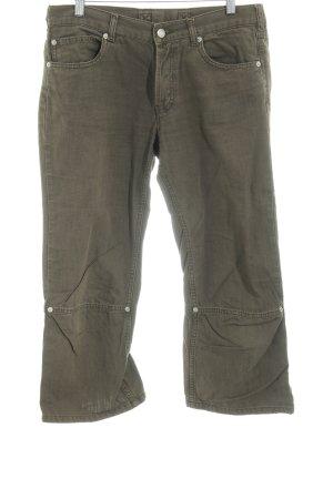 Freeman t. porter Pantalon 3/4 kaki style décontracté