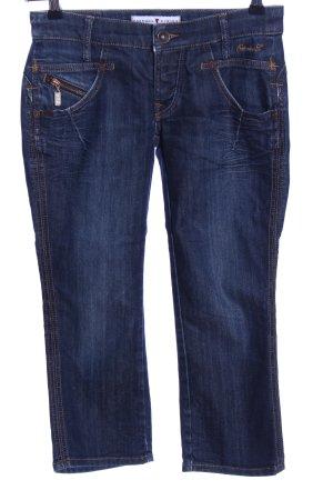 Freeman t. porter 7/8 Jeans blau Casual-Look