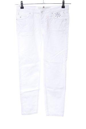 Freeman t. porter 7/8 Jeans weiß Casual-Look