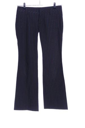 Freeman t. porter Pantalón de vestir marrón oscuro estampado a rayas