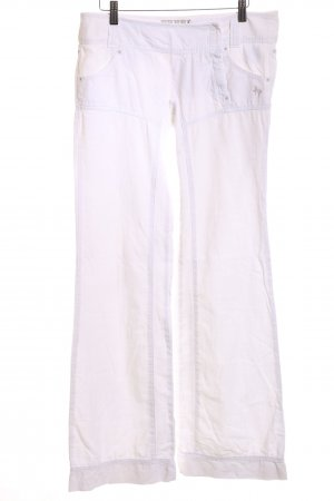 Freeman t. porter Baggy Pants weiß Casual-Look