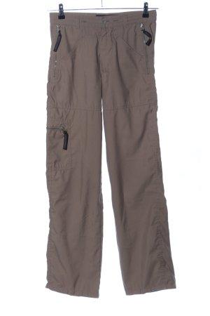 Freeman t. porter Pantalon cargo brun style décontracté