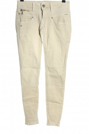 Freeman t. porter Five-Pocket-Hose wollweiß Casual-Look