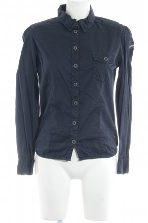 Freeman t. porter Hemd-Bluse dunkelblau Casual-Look
