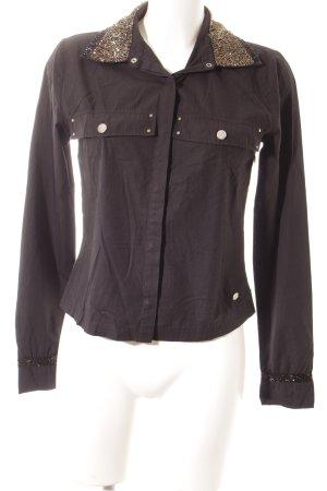 Freeman t. porter Hemd-Bluse schwarz Casual-Look