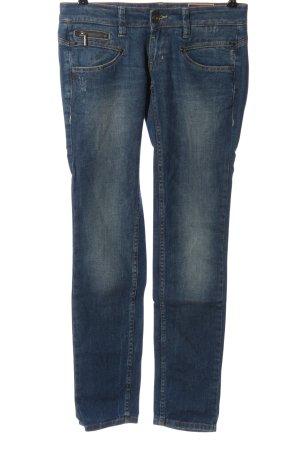 Freeman t. porter Jeans vita bassa blu stile casual