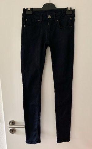 Freeman t. porter Jeans slim bleu foncé